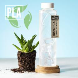 BOTELLA PLA COMPOSTABLE
